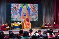 В Туве VIII Камбы-Ламу торжественно возвели на престол