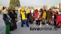 В Кызыле дети в новогодние каникулы бесплатно посещают праздничные мероприятия и музейные выставки
