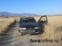 В Туве местный житель случайно задавил собутыльника