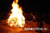 В Туве определили места для проведения молебнов на Шагаа