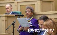 Ошку-Саар Ооржак рассказала в Совете Федерации о возрождении жизни в тувинских селах