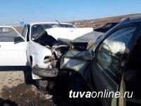 В Кызыле в ДТП пострадали пять человек, ещё трое – погибли