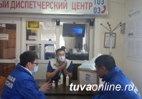Тува: Волонтеры «Единой России» передали Скорой помощи антисептические средства и свыше 1000 медицинских масок