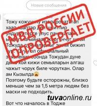 В МВД Тувы напоминают – за репосты фейков могут наказать
