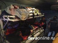 В Туве пятеро несовершеннолетних пострадали в аварии