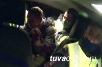 В Кызыле задержали «неугомонного» водителя