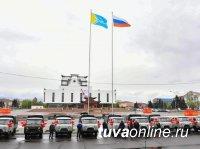 В Туве в День Первомая районным сельхозуправлениям вручили автомашины
