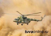 Военнослужащие ЦВО потушили природные пожары в Туве