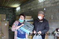Тува: Сукпакский дом культуры получил новое светозвуковое оборудование