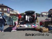 В столице Тувы уличным торговцам напомнили о соблюдении режима самоизоляции