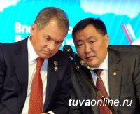 Глава Тувы поздравил с Днем рождения министра обороны РФ Сергея Кужугетовича Шойгу