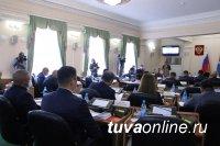 Глава Тувы отчитался перед парламентом о работе правительства в 2019 году