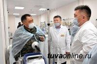 Глава Тувы поздравил медиков республики с профессиональным праздником