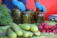 В Правобережном микрорайоне Кызыла открыт новый крытый сельхозрынок