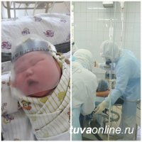 Малышам в Туве выдают защитные наряды