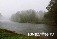 В Туве граждан просят быть осторожными близ водоёмов, где из-за дождей ожидают подъёма уровня воды