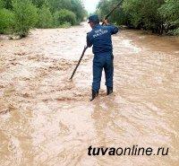 В пяти районах Тувы ухудшилась паводковая обстановка
