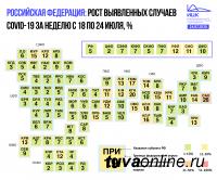 Итоги недели по заболеваемости COVID-19 в Сибири