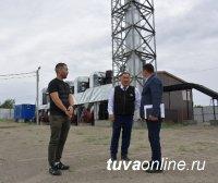 Глава Тувы проинспектировал площадки двух промпарков