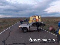 В Туве у озера в тройном ДТП погибла женщина