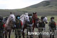 В Туве участники «Конного марафона» готовятся преодолеть первый маршрут