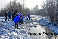 В Туве проведут расчистку русла реки Чадан у села Теве-Хая Дзун-Хемчикского района