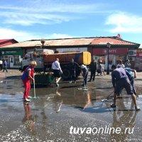 Кызылчан и кызылских предпринимателей призывают ко Дню города убрать и украсить дворы и фасады зданий