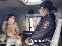 В Кызыле искали пропавшую 4-летнюю девочку