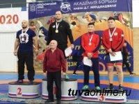 У борцов  из Тувы на чемпионате СФО 1 золотая медаль, две серебряные, 6 бронзовых