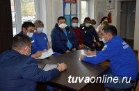 Министр здравоохранения Республики Тыва Артыш Сат посетил Центр скорой медицинской помощи