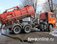 Водители ассенизаторов затапливают Кызыл нечистотами