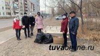 В Кызыле завершили сезон субботников 2020 года
