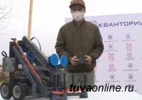 В Туве начал работу мобильный Кванториум, специально-оборудованный инфокласс на колесах