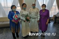 На Камчатке сыграли свадьбу по-тувински