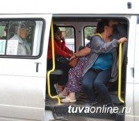 В Кызыле родители позволяли подростку управлять пассажирской маршруткой