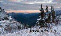 Декабрь в Туве будет на 2 градуса теплее многолетних значений