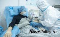 В Туве число выздоровевших от COVID-19 почти втрое превышает число заразившихся