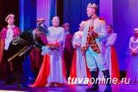 В Кызылском президентском кадетском училище состоялся показ Новогодней сказки