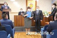 Глава Тувы поздравил с 95-летием региональное Управление ФСБ России