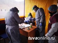 За сутки в Туве зарегистрировано 70 новых случаев заболевания Covid, больше всех в Сут-Хольском кожууне - 13