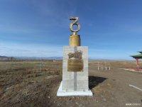 Памятник тувинской письменности лидирует в онлайн-голосовании конкурса необычных скульптур России