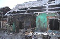 В Туве причиной каждого бытового пожара становится человеческий фактор