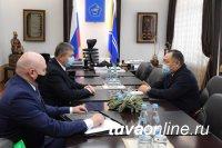 Глава Тувы встретился с руководителем Погрануправления ФСБ России по Республике Тыва