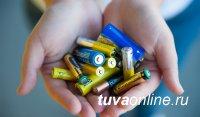 Собранные в 2020 году в Туве 2000 использованных батареек направлены на утилизацию в Челябинск