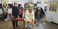 В Крещенский сочельник архиепископ Корейский Феофан совершил Божественную Литургию в приходе Сеула