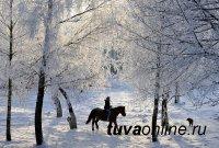 В Туве 22 января ночью до – 33°С мороза