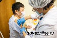 Команда Мэрии Кызыла прошла вакцинацию от Covid-19