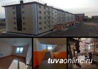 В Туве в 2020 году построено 115 тыс кв.м (в 2008 году - 26 тыс кв.м)