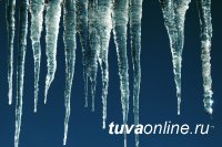 В Туве зафиксирован рекордный перепад температур - от 0 в воскресенье, до - 37 в понедельник!