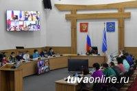 На аппаратном совещании Правительства Тувы в пандемию COVID-19 традиционно обсудили координацию всех уровней власти